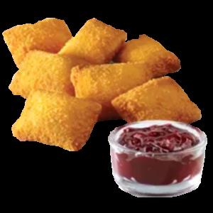 7 сырных подушечек + Клюквенный соус
