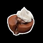 Горячий Брауни с Мороженым