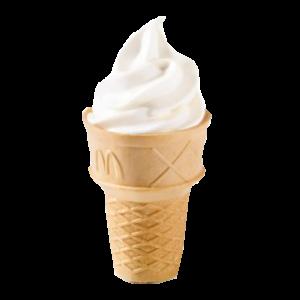 Мороженое в вафельном рожке за 19 рублей