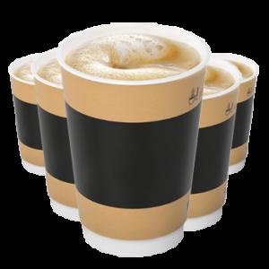 6-й кофе в подарок в МакКафе