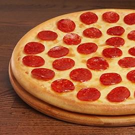 Пепперони бесплатно при первом заказе через приложение Доминос Пицца