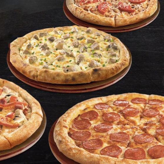 4 пиццы за 990 ₽ в FoodBand