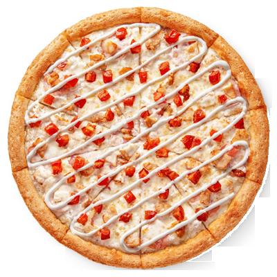 Пицца «Цыпленок Ранч» 25 см бесплатно при заказе от 860 ₽