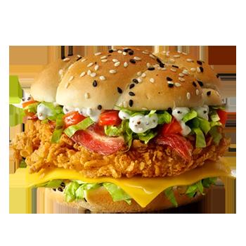 Шефбургер Де Люкс в КФС