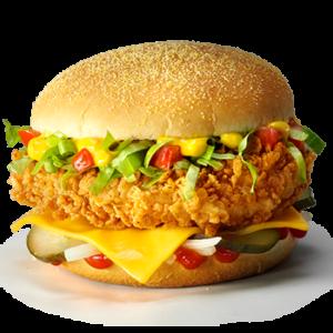 Чизбургер в КФС