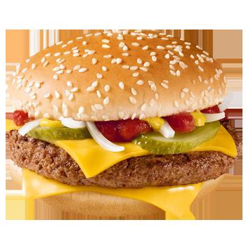 Чизбургер в МакДональдс