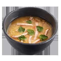 Суп гороховый с копченостями в Теремке