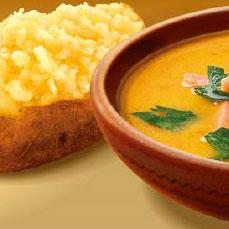 Суп гороховый + Крошка-Картошка