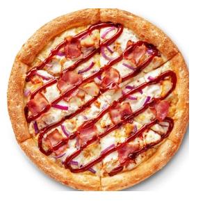 Пицца «Цыпленок барбекю» 30 см в Додо Пицца