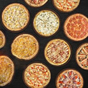 10 пицц за 4990 ₽ + 4 литра чая каркаде бесплатно