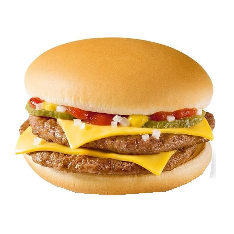 Двойной Чизбургер в МакДональдс