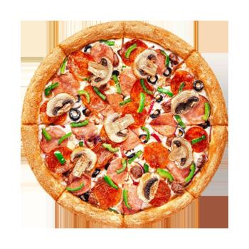 Сделайте заказ от 845 рублей и получите пиццу Додо 25 см в подарок