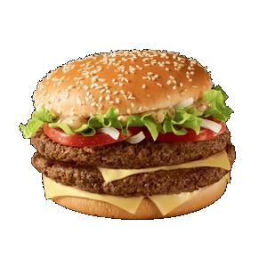 Двойной Биг Тейсти в МакДональдс
