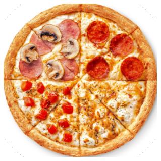 Пицца «Четыре сезона» 25 см в Додо Пицца