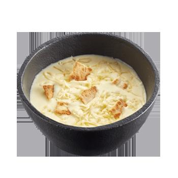 Сырный суп в Теремке