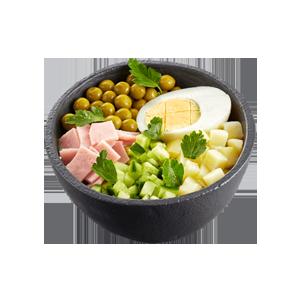 Салат оливье в Теремке