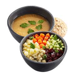 Суп гороховый + Винегрет