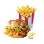 Шефбургер + Картофель Фри стандартный + Соус на выбор