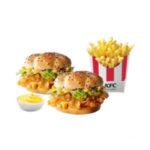 2 Шефбургера + Картофель Фри стандартный + Соус на выбор